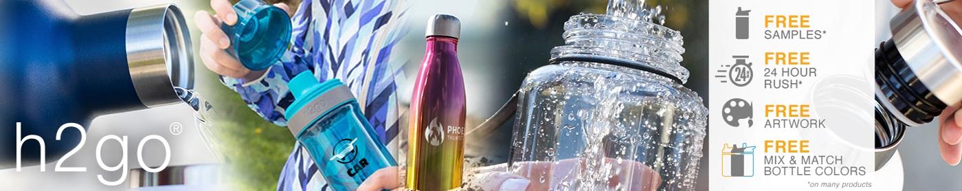 Custom h2go® Water Bottles®